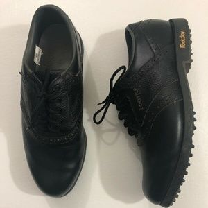 FOOTJOY Men's Golf Shoes Greenjoys Black Size 10M